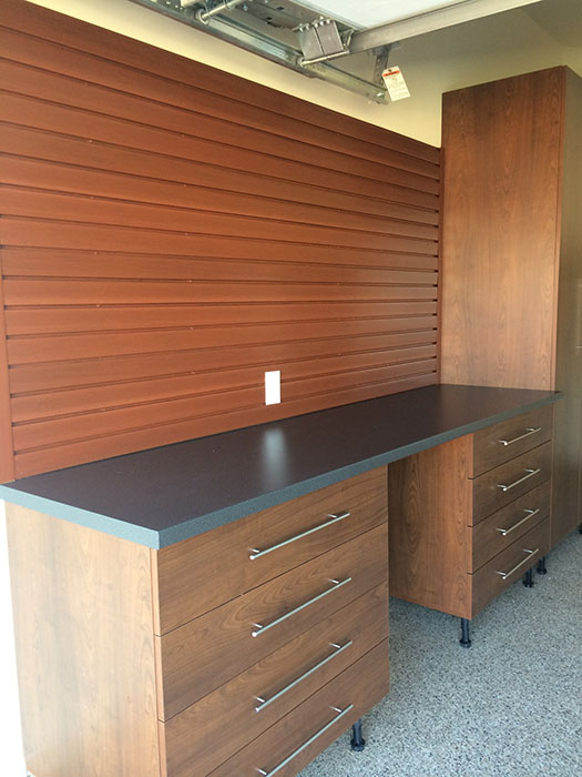 Ultimate garage llc for Premier garage cabinets